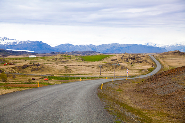 Route Islande