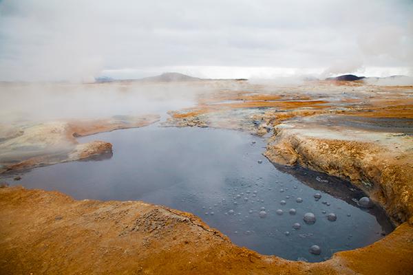 Fumerolle Islande