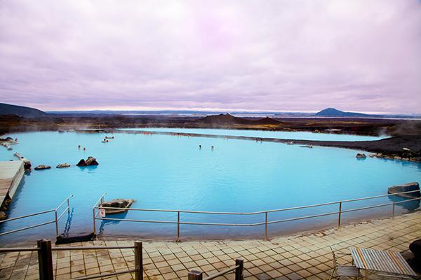 Bain thermique de Myvatn Islande