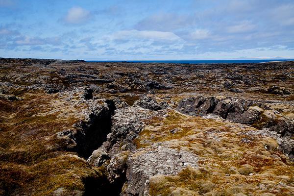 Champ de lave Islande
