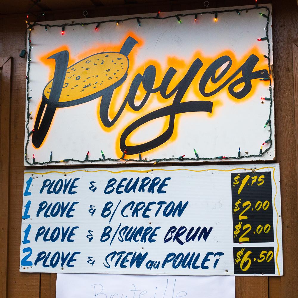Ployes - Edmundston, Nouveau-Brunswick
