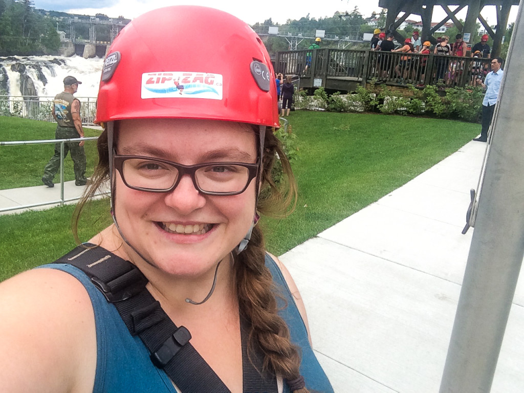 Hop! J'ai fait le Grand-Sault, Nouveau-Brunswick