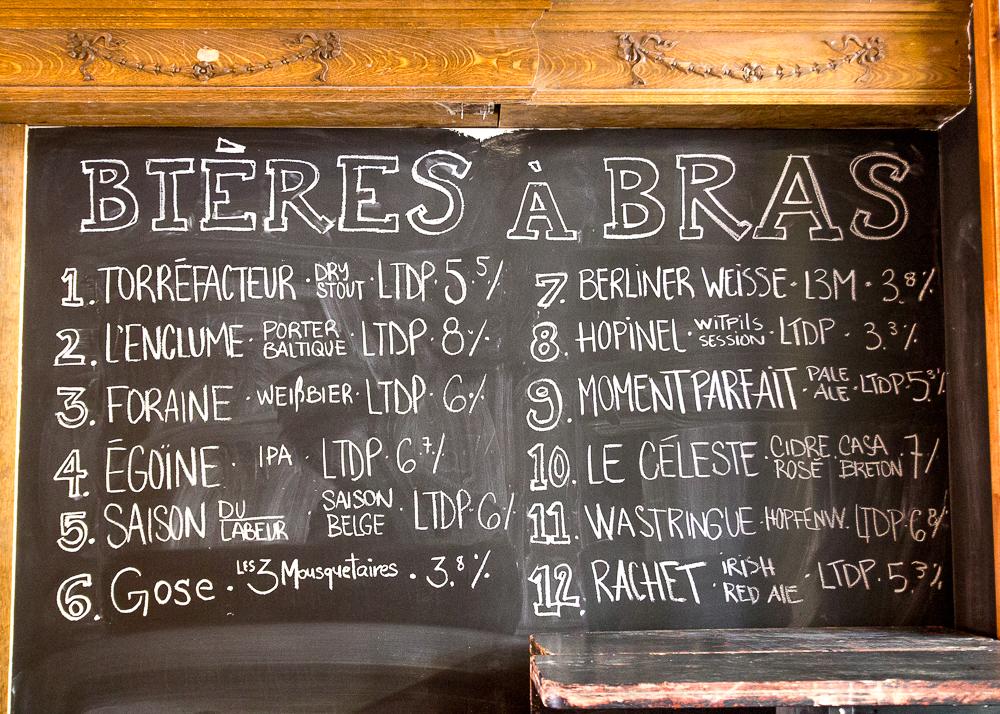 Bières - Le Temps d'une Pinte - Trois-Rivières - Mauricie