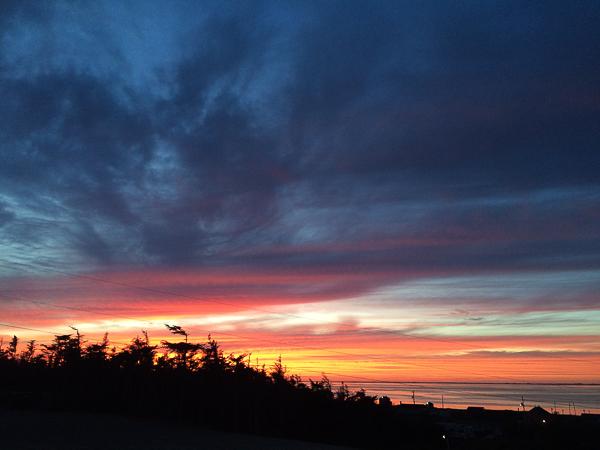 Coucher de soleil La Salicorne - Îles de la Madeleine