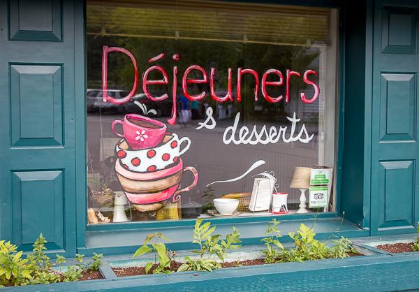 Déjeuners et desserts - Auberge La Chocolatière - Cantons-de-l'Est - Chemin des Cantons