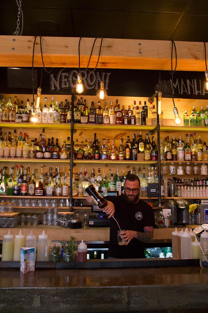 Mixologue et barman - Le Pot - Trois-Rivières - Mauricie
