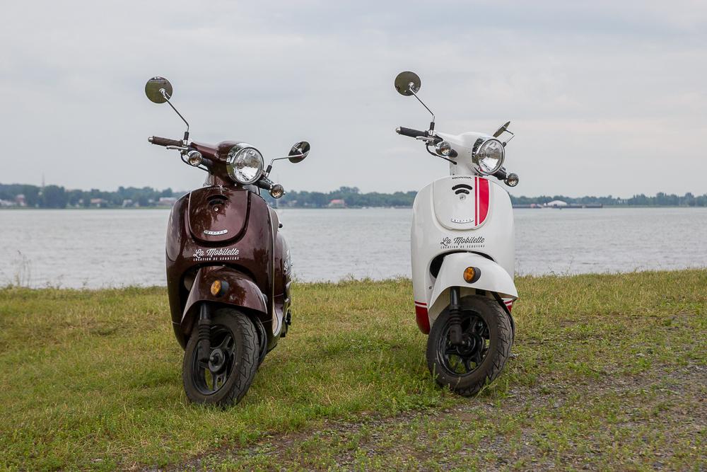 Nos scooters - Trois-Rivières - Mauricie