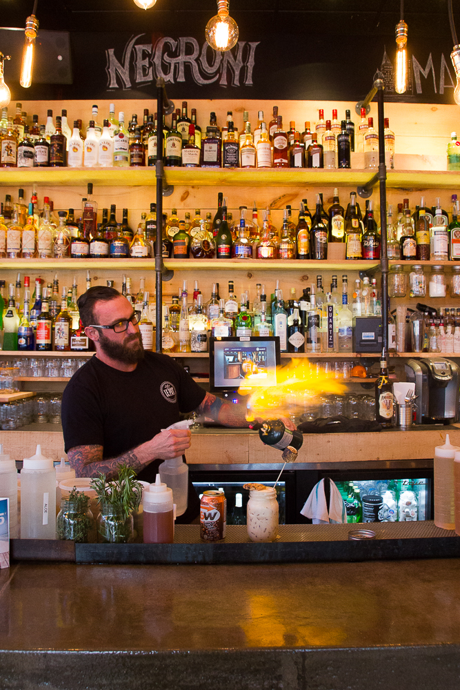 Plein feu sur les cocktails - Le Pot - Trois-Rivières - Mauricie