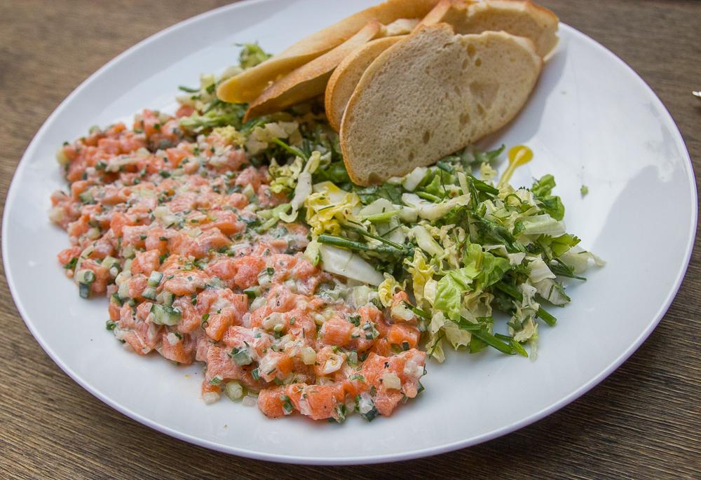 Tartare de saumon - Trois-Rivières - Mauricie