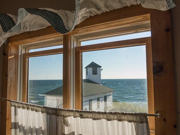 Vue de la chambre - Tibbetts Point Lighthouse - Hostelling International - Cape Vincent, New York, United States
