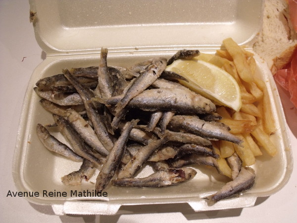 street food poissons frits zagreb