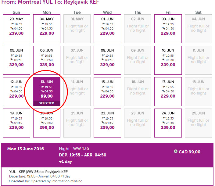 Départ - Book a flight - WOW Air Islande Reykjavik