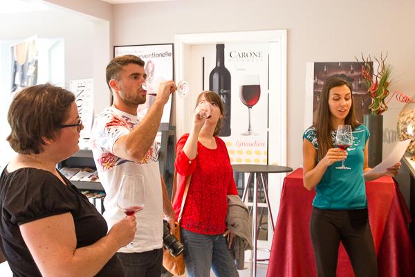 Gang de blogueurs - Vignoble CARONE Wines