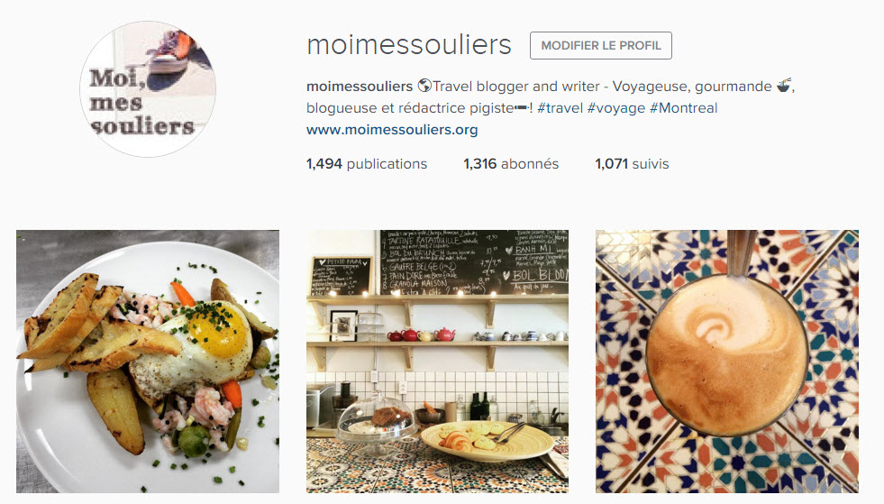 Instagram Moi, mes souliers