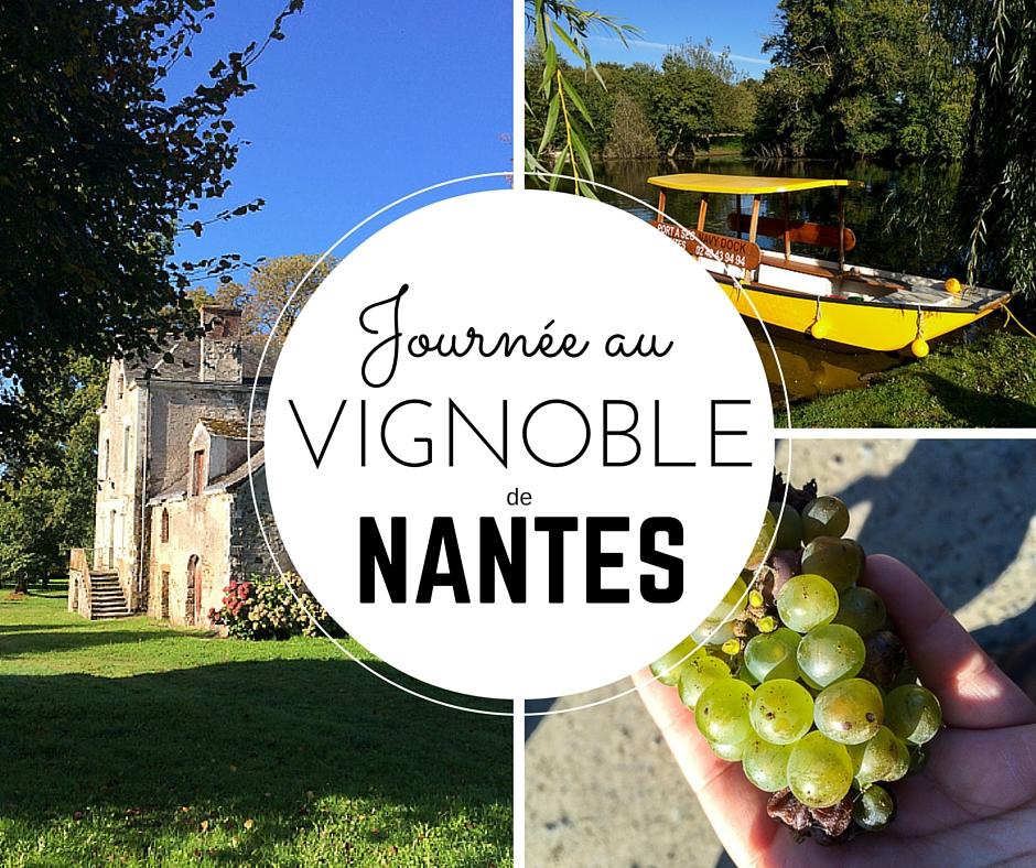 Journée au vignoble de Nantes, France
