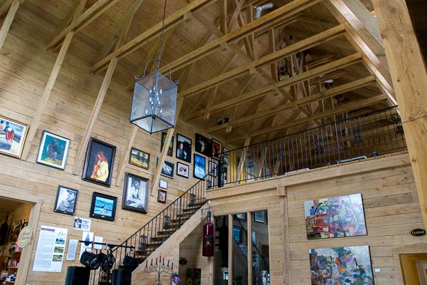 Salle d'exposition Vignoble Saint-Gabriel