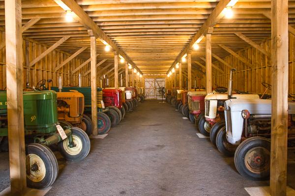 Tracteurs - Vignoble Saint-Gabriel