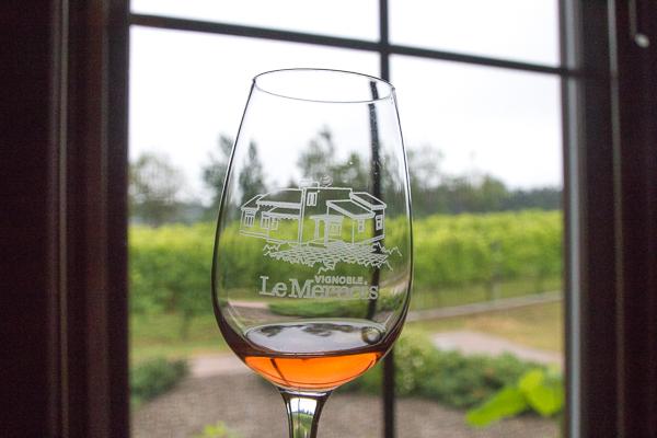 Vignoble Le Mernois - Coupe et vignoble