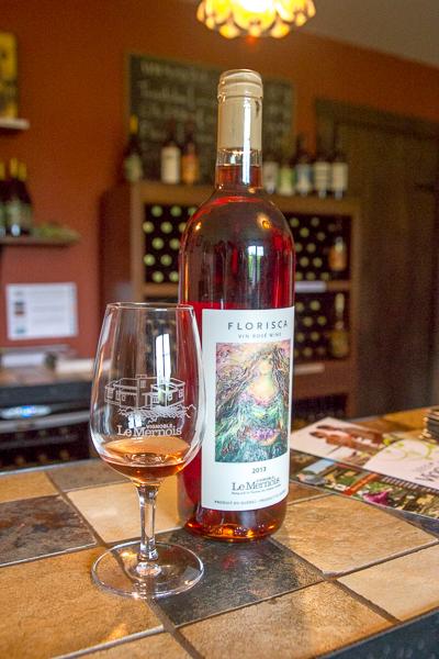 Vignoble Le Mernois - vin rosé