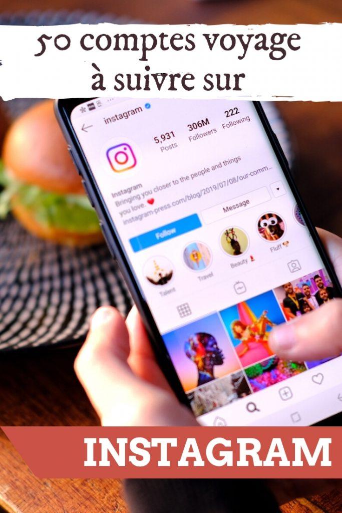 Comptes Instagram francophones à suivre