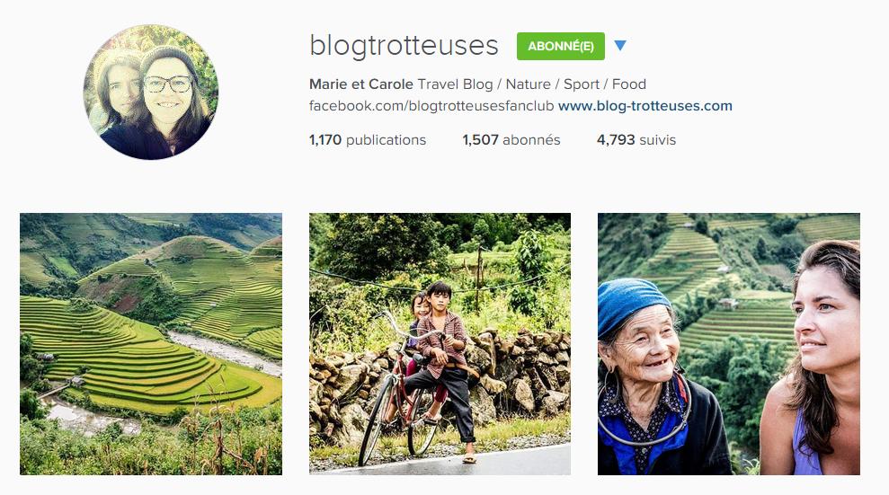 instagram blogtrotteuses