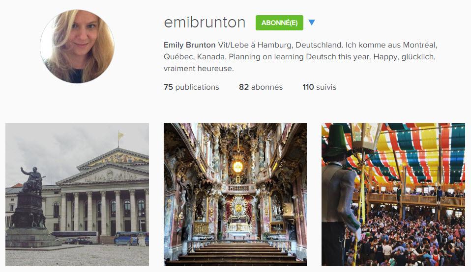instagram emibrunton