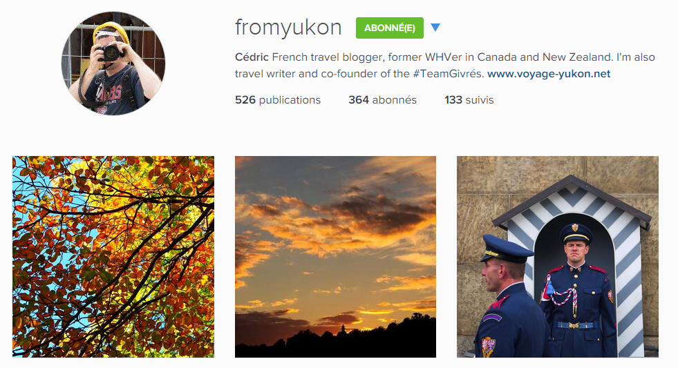 instagram fromyukon