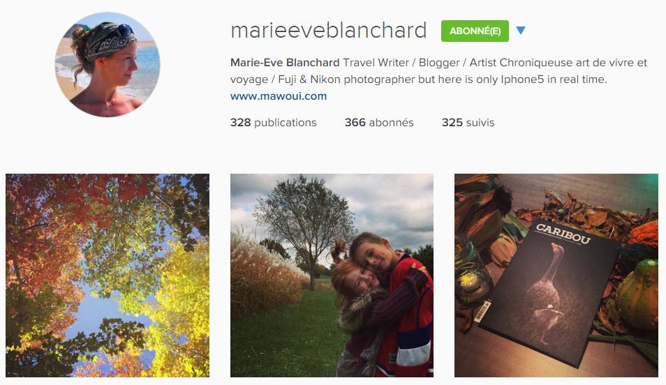 instagram marieeveblanchard