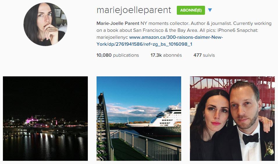 instagram mariejoelleparent