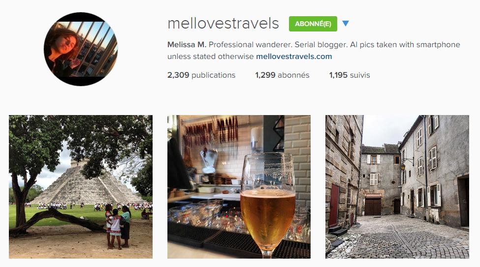 instagram mellovestravels