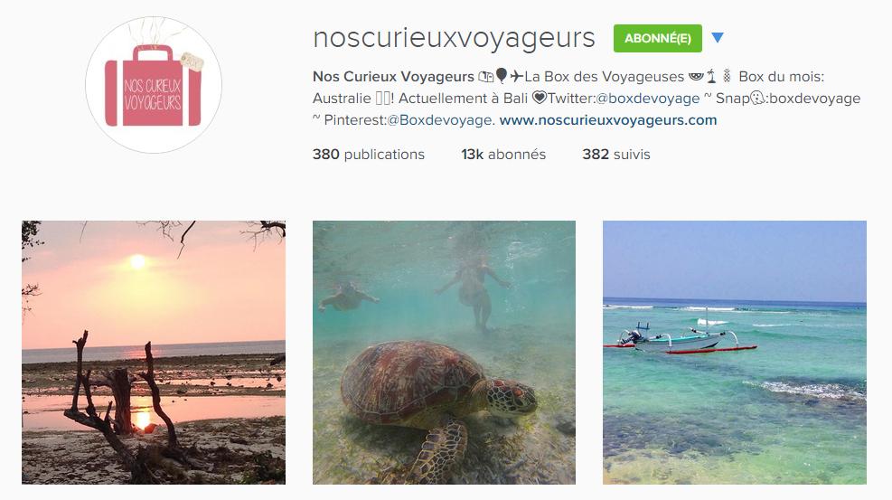 instagram noscurieuxvoyageurs