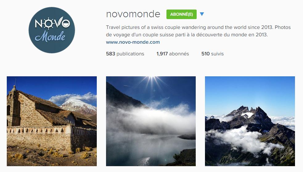 instagram novomonde