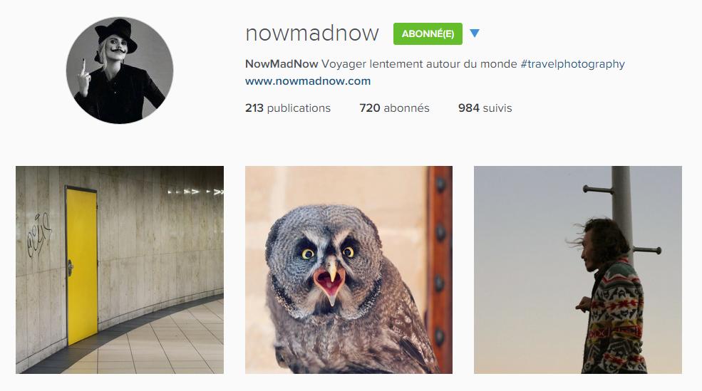 instagram nowmadnow