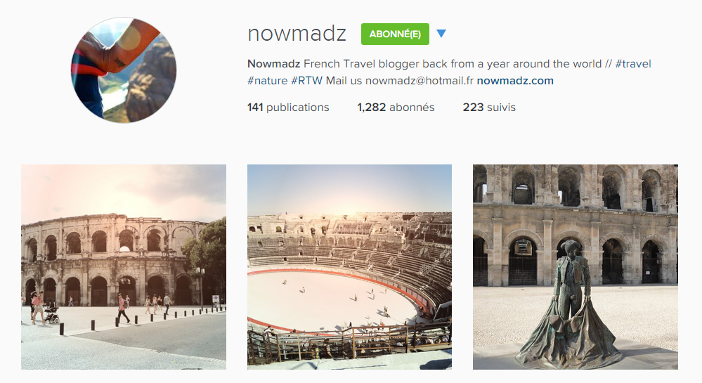 instagram nowmadz
