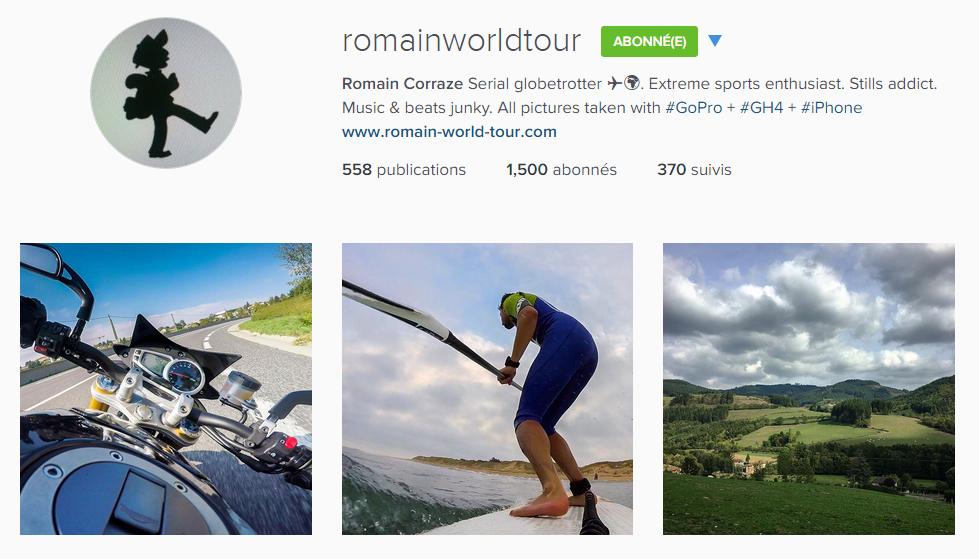 instagram romainworldtour