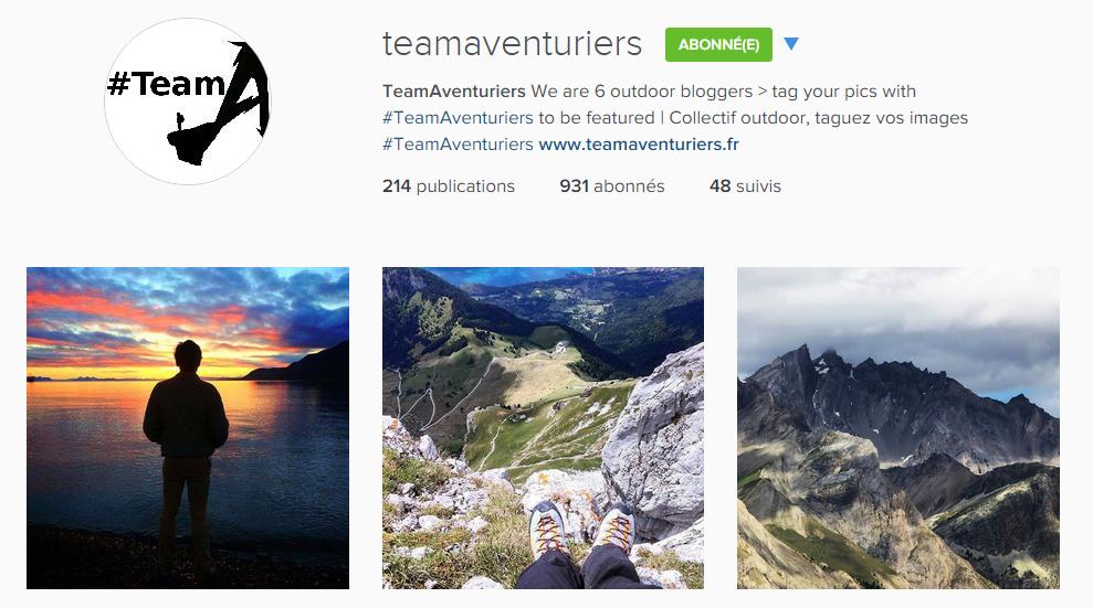 instagram teamaventuriers