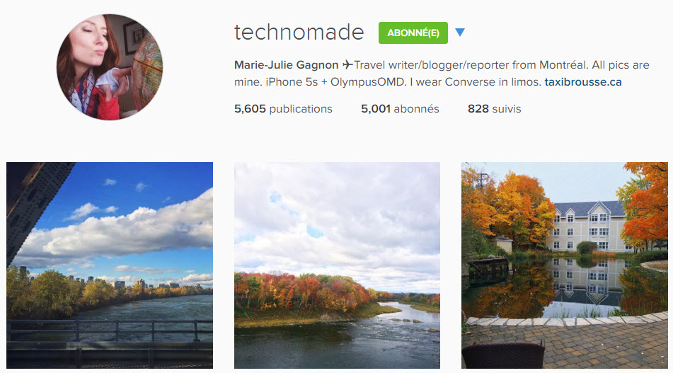 instagram technomade