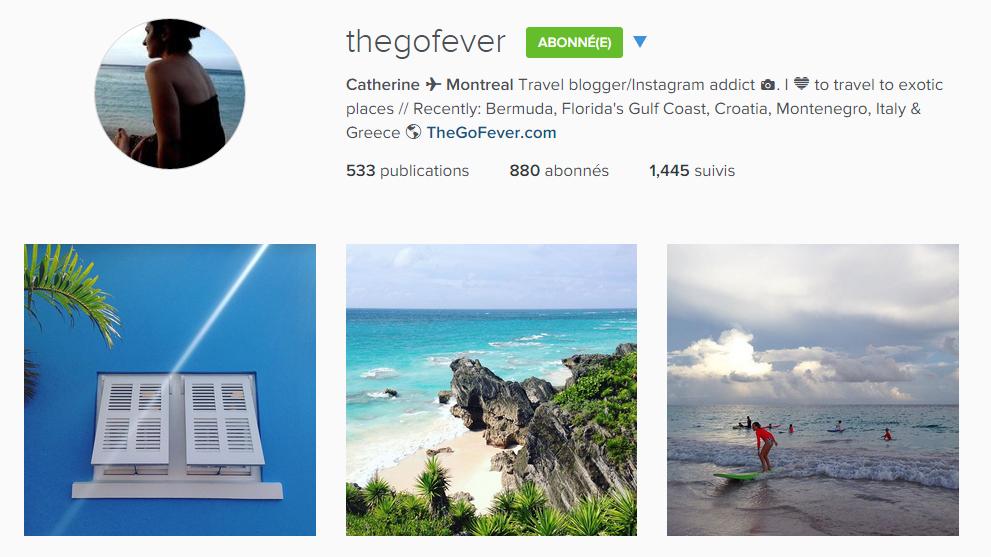 instagram thegofever