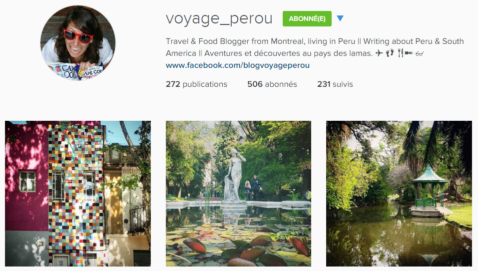 instagram voyage_perou