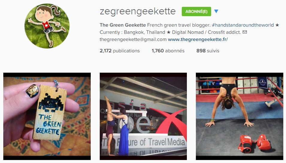 instagram zegreengeekette