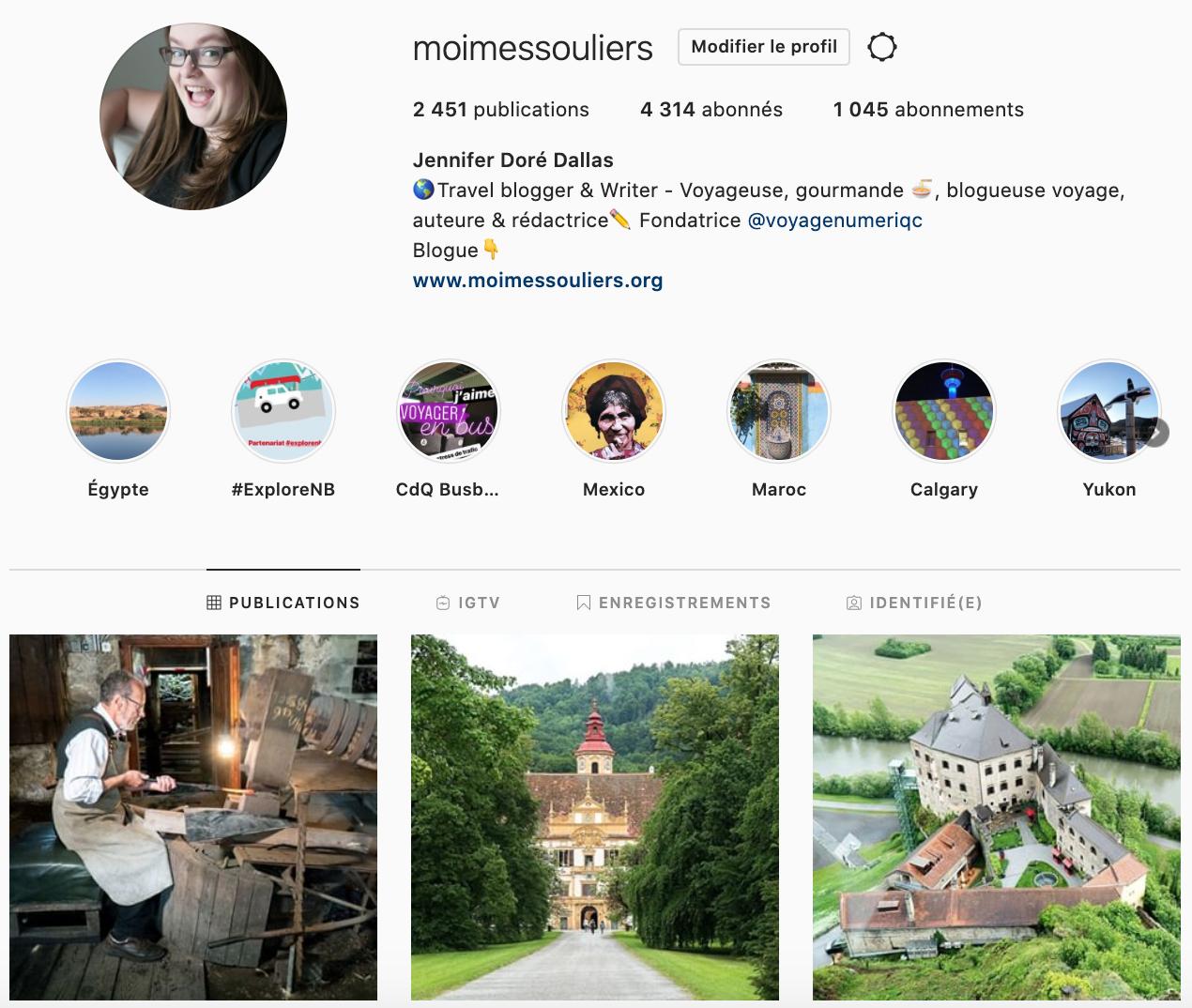 Moi, mes souliers Top comptes Instagram