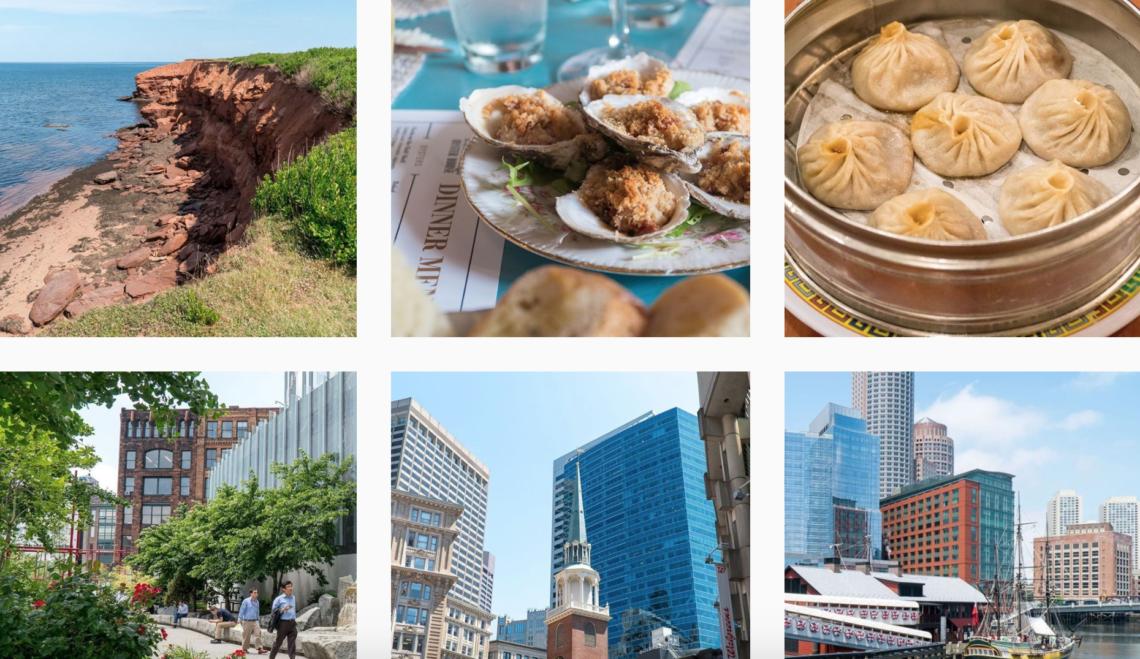 Top comptes voyage Instagram à suivre