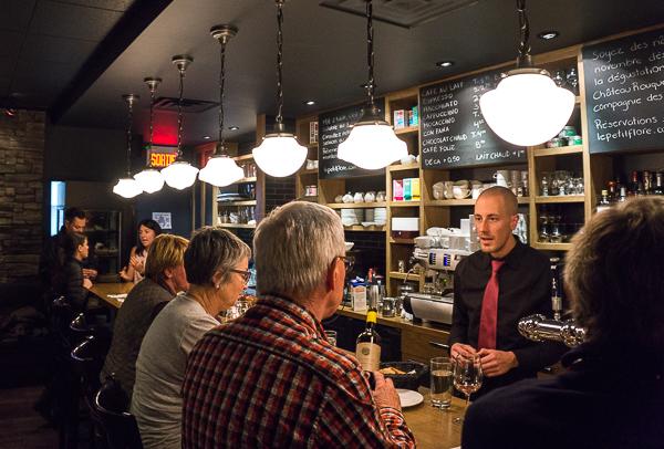 Bar - Café Le Petit Flore - MTLaTable 2015