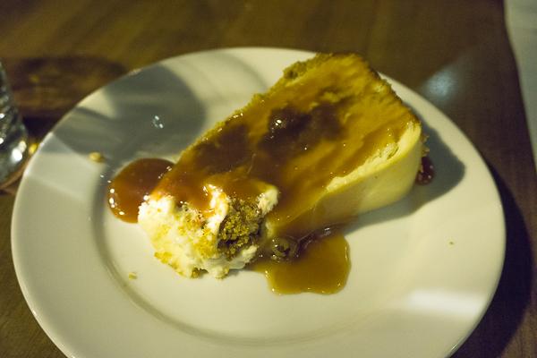 Gâteau caramel, fromage et carottes - Café Le Petit Flore - MTLaTable 2015