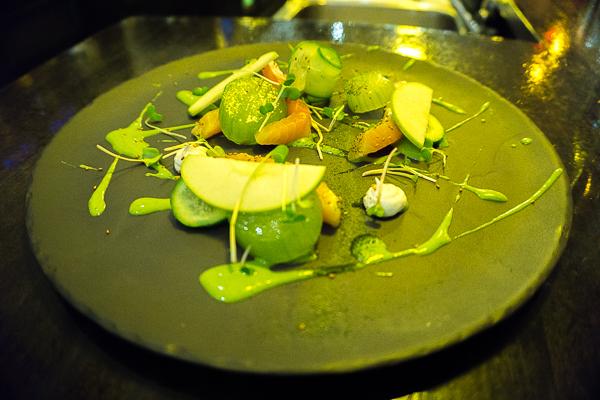 Gravlax de saumon - Chez Victoire - MTLaTable 2015