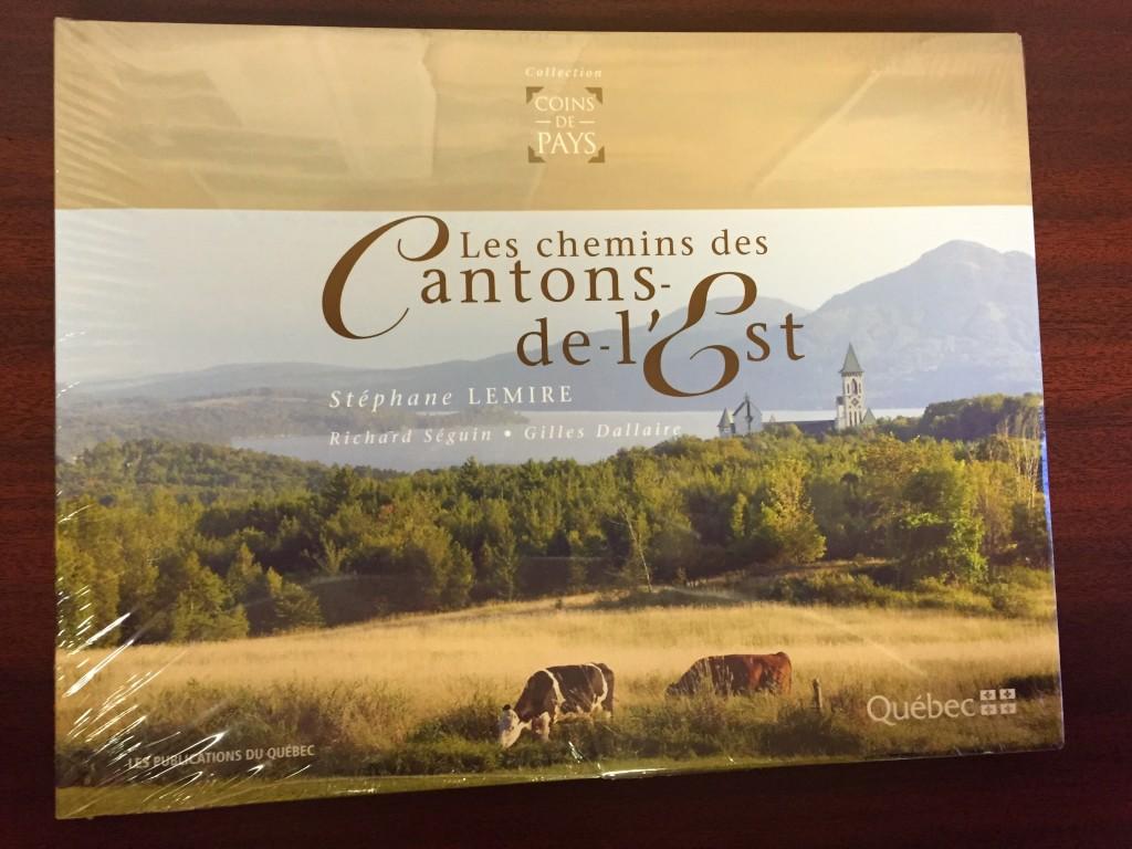 Livre Les Chemins des Cantons (Cantons-de-l'Est)