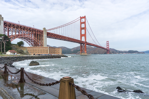 Pont Golden Gate Bridge - San Francisco, Californie, États-Unis (15 sur 21)