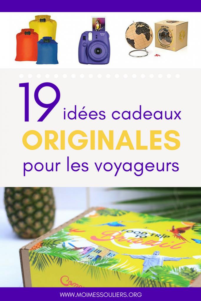 19 idées cadeaux originales pour les voyageurs
