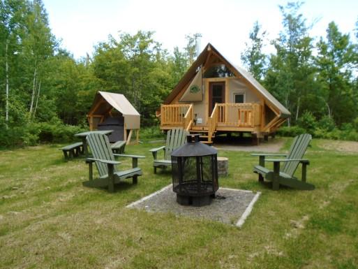 oTENTik - Tirée du site de Parcs Canada