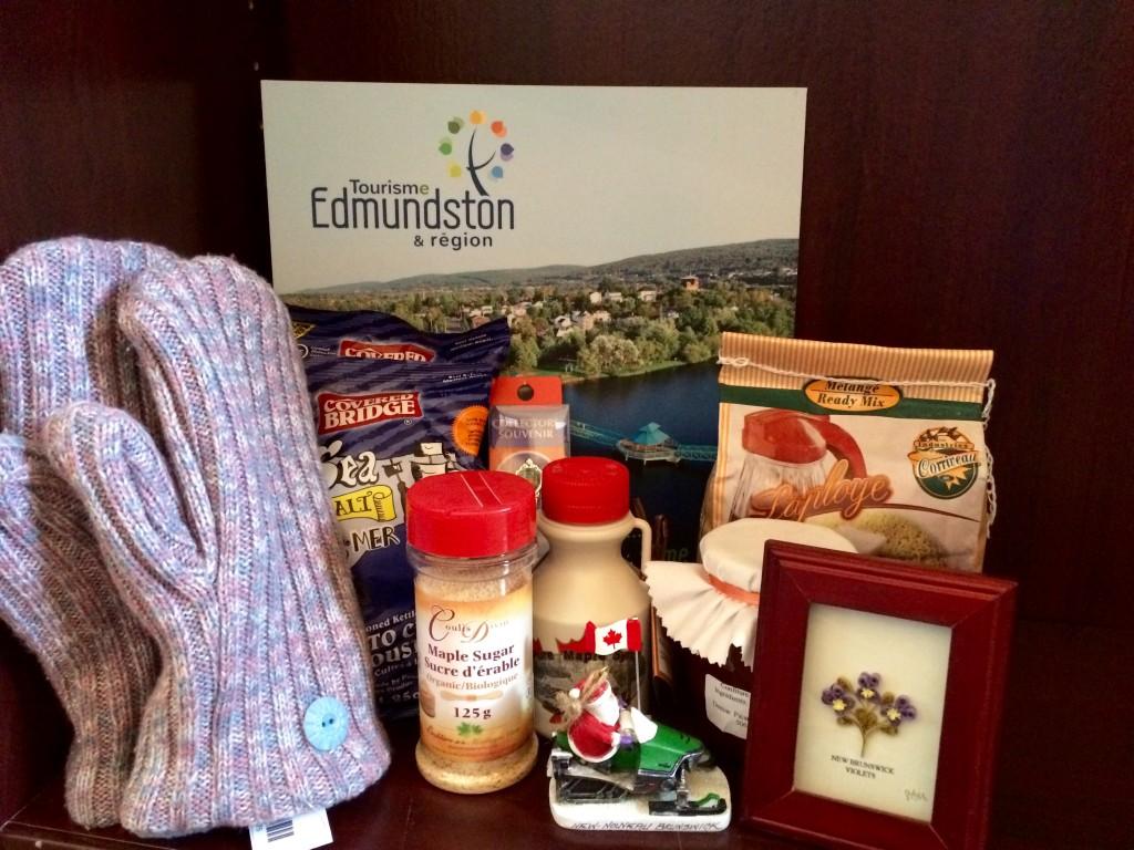 panier-cadeaux -Tourisme Edmundston